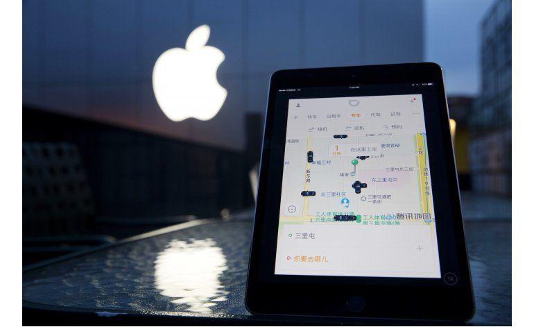 Apple invierte en el principal rival de Uber en China