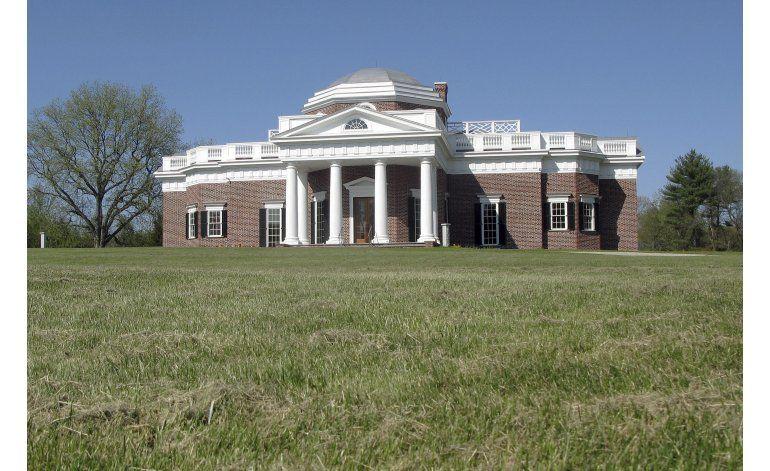 Subastan réplica de mansión de Thomas Jefferson