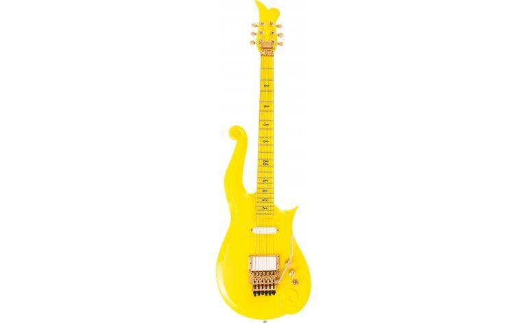 Guitarra de Prince será subastada en Beverly Hills