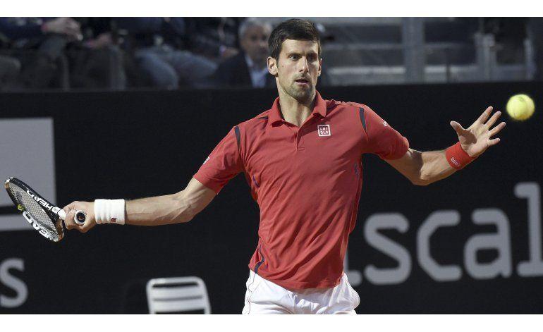 Djokovic se cita con Murray en la final de Roma