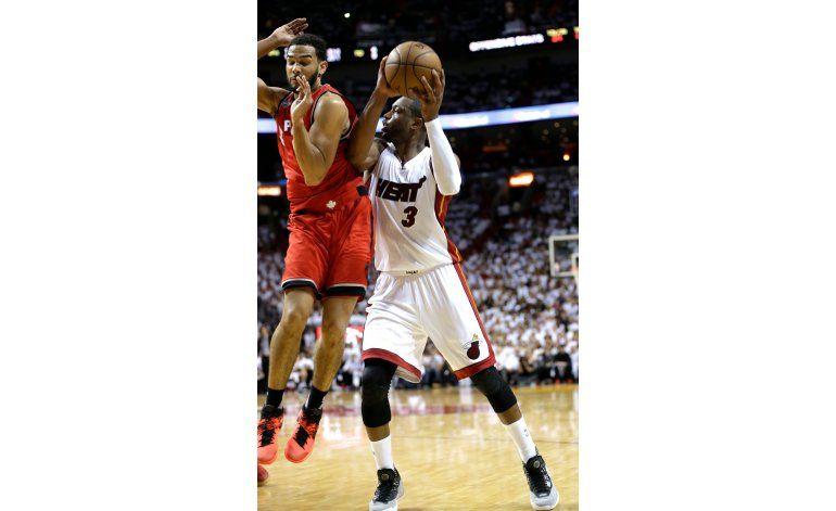 Raptors y Heat, a todo o nada en un séptimo partido