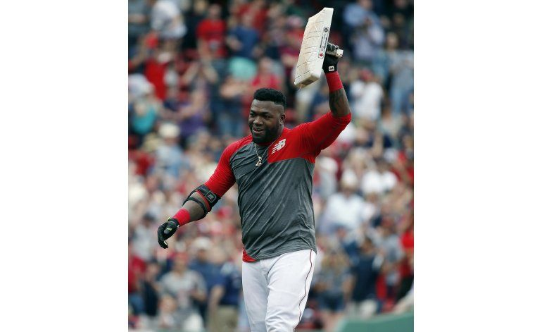 Recital de bateo de David Ortiz en victoria de Boston