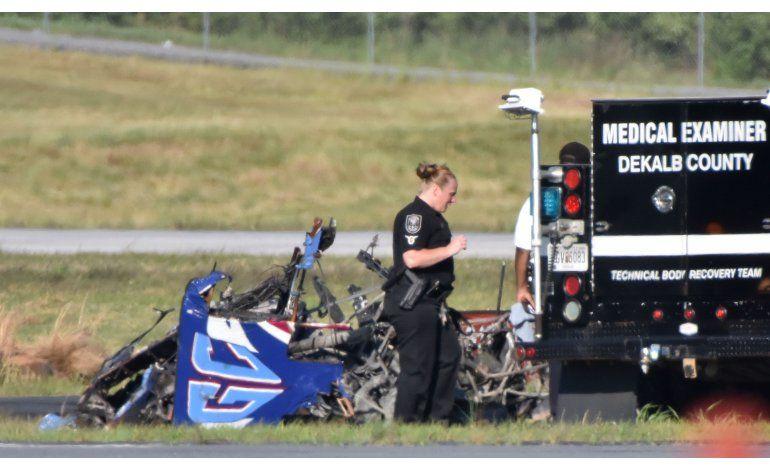 EEUU: Piloto muere al caer avión durante espectáculo aéreo