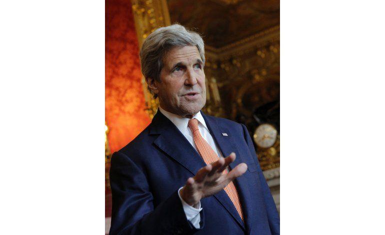 Kerry, en Arabia Saudí para hablar sobre Siria, Libia, Yemen