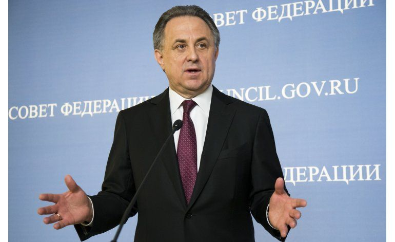 Ministro: Rusia tiene un problema de dopaje y lo lamenta