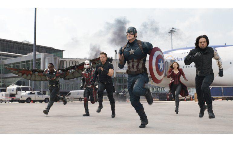 Capitán América lidera y Monster Money recauda 15 millones