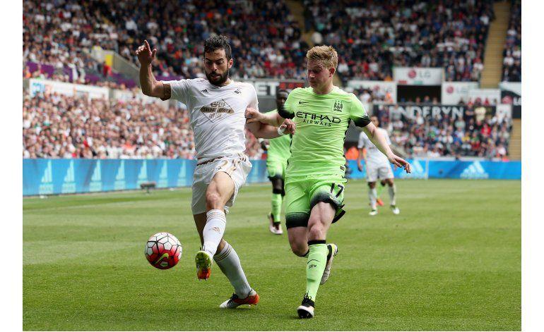 Manchester City con pie y medio en la Liga de Campeones