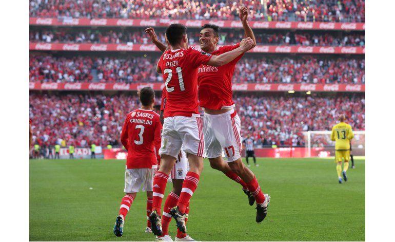 Benfica, campeón de Portugal por tercer año seguido