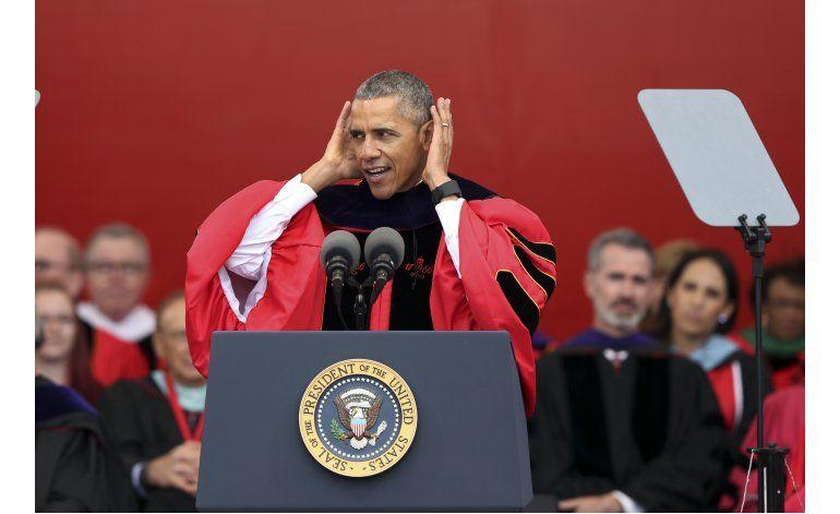 Obama dice que los muros no van a resolver los males de EEUU