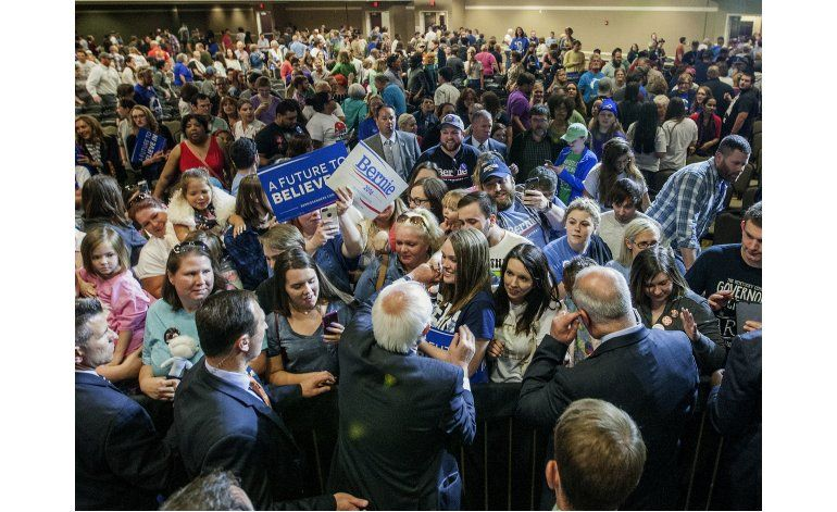 Bernie Sanders visita Puerto Rico