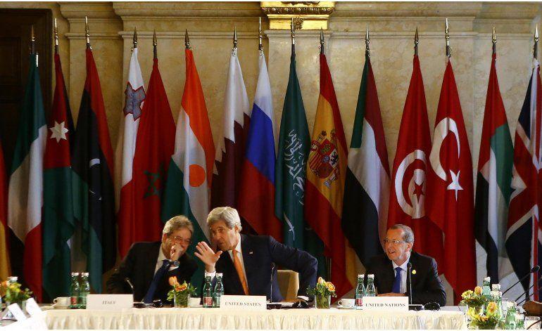 Diplomáticos de más de 20 países discuten Libia