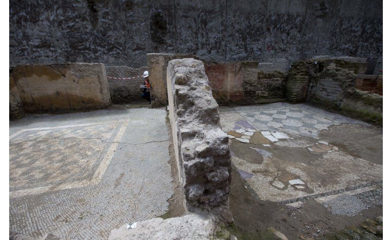 Nueva línea del metro de Roma se topa con ruinas ancestrales