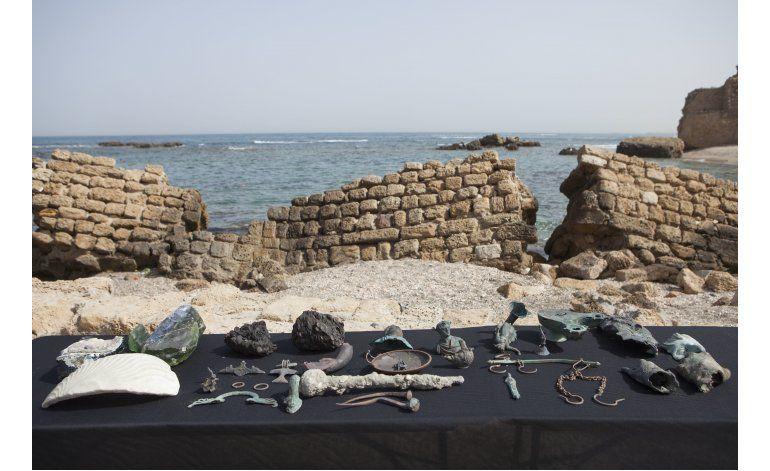 Israel: Buzos descubren antiguo tesoro romano