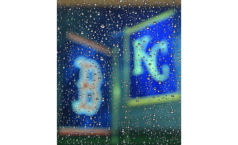 Medias Rojas-Reales, pospuesto por lluvia