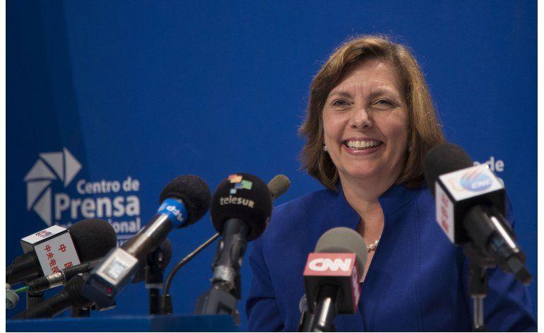 Diplomática cubana: Positiva la visita de Obama