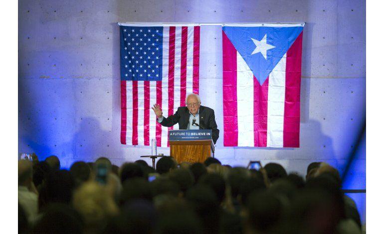 Bernie Sanders critica en Puerto Rico a fondos buitre