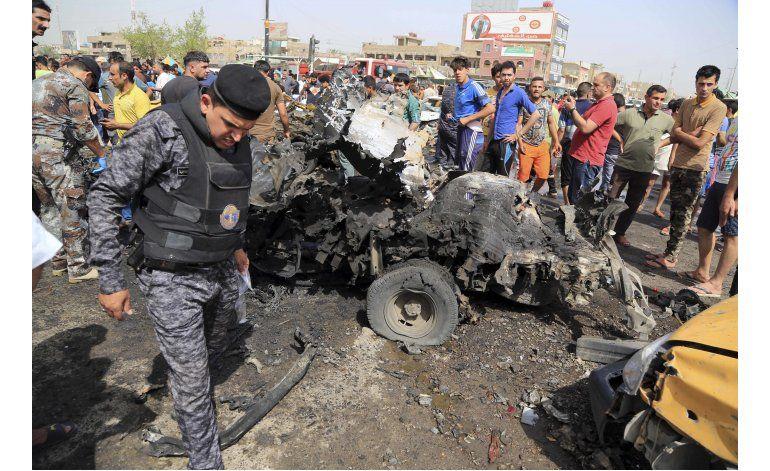 Atentados alrededor de Bagdad dejan decenas de víctimas