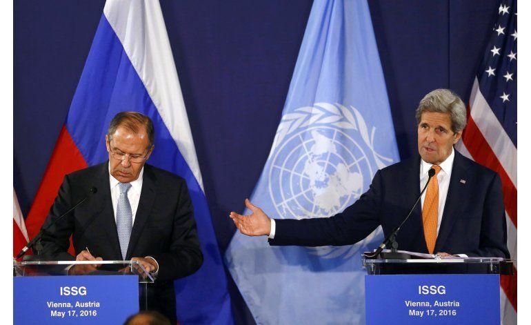 Líderes buscan en cumbre en Viena cese del fuego para Siria
