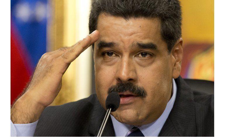 Nicolás Maduro acusa de terroristas a los miembros del partido opositor Voluntad Popular