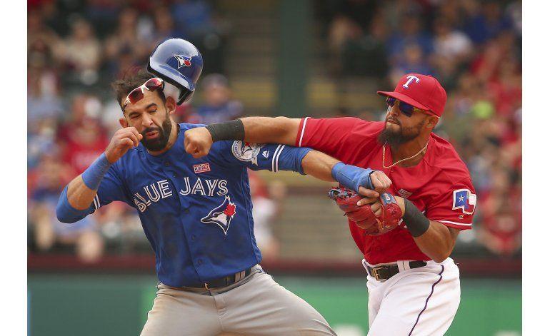 Rougned Odor es suspendido 8 partidos por pelea con Bautista