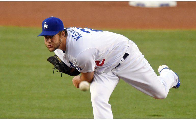 Kershaw poncha a 11 y Dodgers vencen a Angelinos