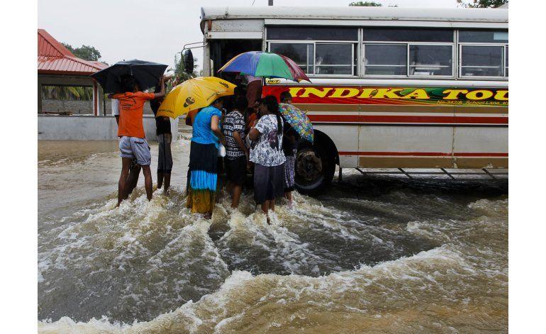 Sri Lanka: Más de 100 familias desaparecidas tras deslaves