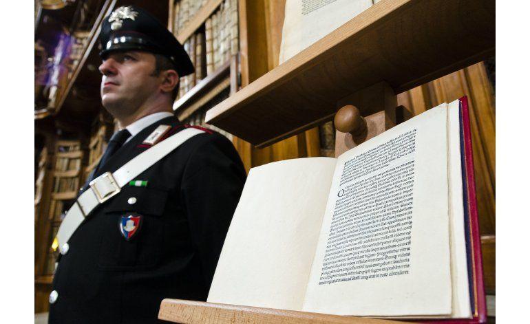 EEUU devuelve a Italia carta de Cristóbal Colón