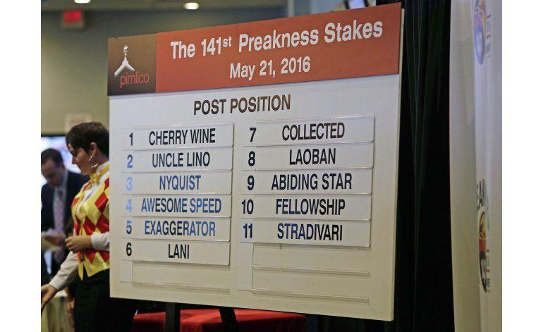 Nyquist partirá tercero y como favorito del Preakness