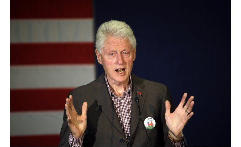 Trump emplea término violación en alusión a Bill Clinton