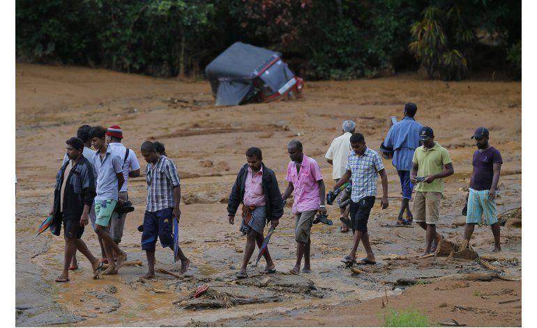 Cientos desaparecidos tras deslaves en Sri Lanka