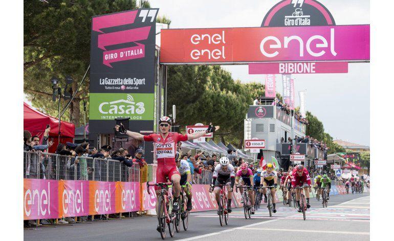 Greipel gana su 3ra etapa y después abandona el Giro