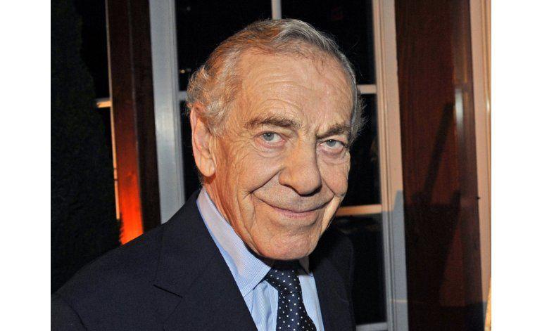 Muere Morley Safer, veterano corresponsal de 60 Minutes
