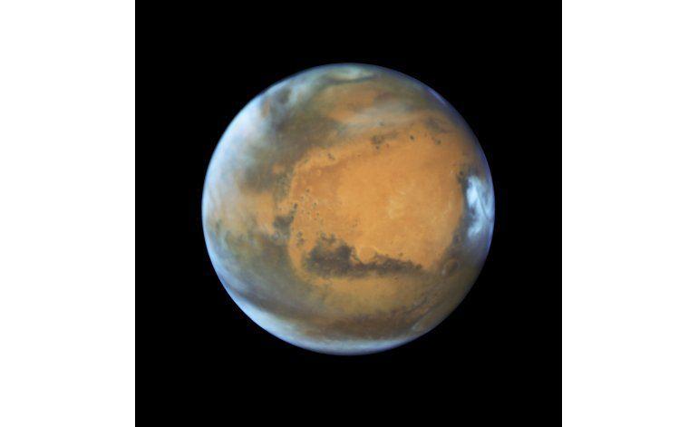 Marte, Tierra y Sol se alinearán perfectamente el domingo