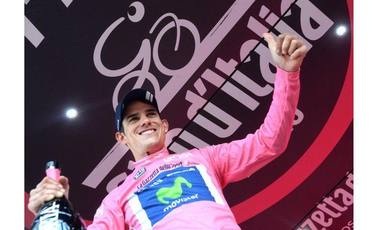 Amador, 1er tico en liderar la general de Giro de Italia