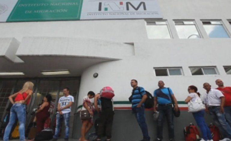 Cientos de cubanos no pudieron viajar en el segundo puente aéreo de Panamá a México