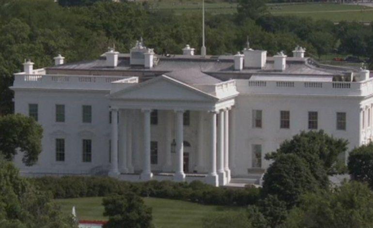 Cierran la Casa Blanca tras disparos cerca de la residencia presidencial