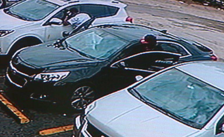Vandalizan auto en centro comercial de Hialeah Gardens en restaurante dominicano
