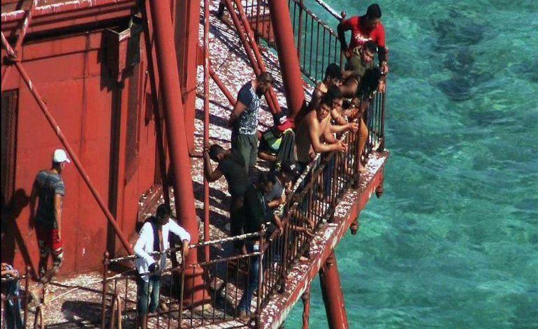 Guardia costera ya repatrió a Cuba a 4 balseros del faro