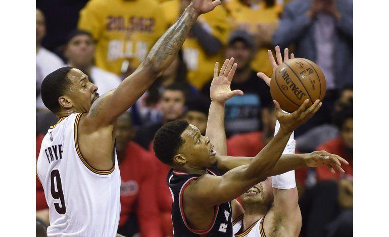 Raptors necesitan que Lowry mejore en serie ante Cavaliers