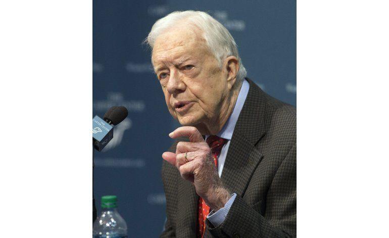 J. Carter: Ciudadanos aún pueden ser poderosos en elecciones