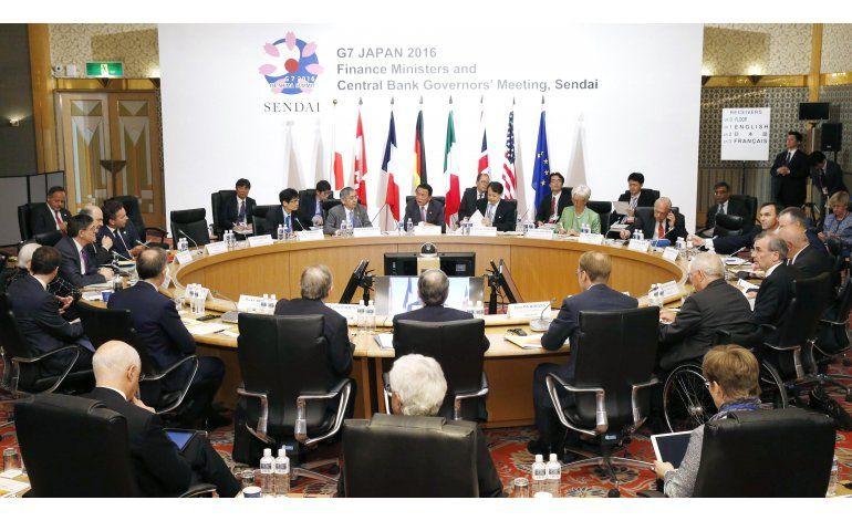 G-7 se compromete a perseguir financiamiento de terroristas