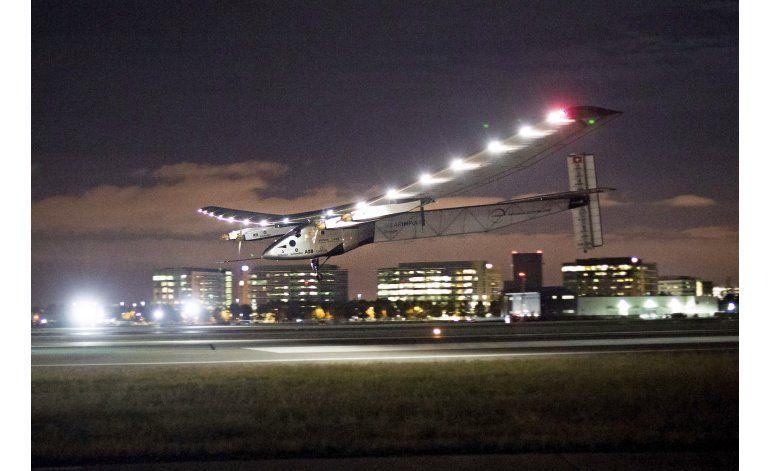 Avión solar vuela de Oklahoma a Ohio
