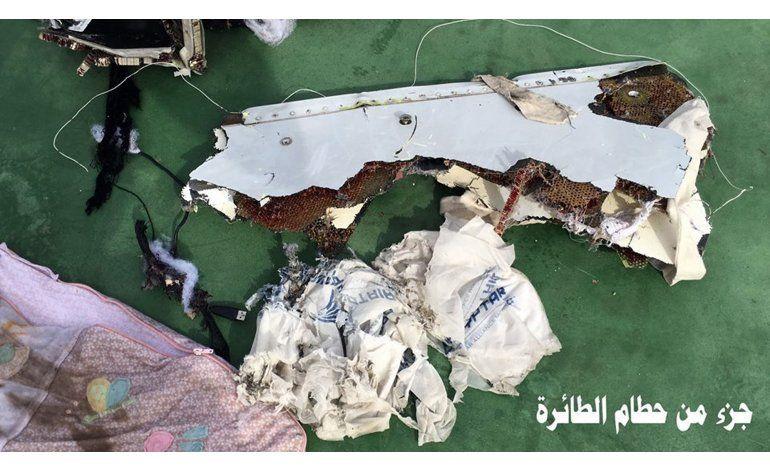 Humo, problemas en cabina en caótico final de vuelo EgyptAir