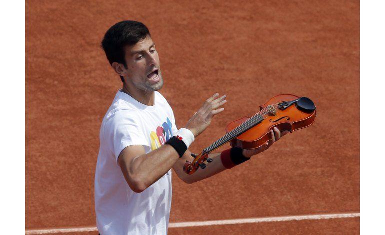 A los 29 años, Djokovic sigue buscando el título en Francia