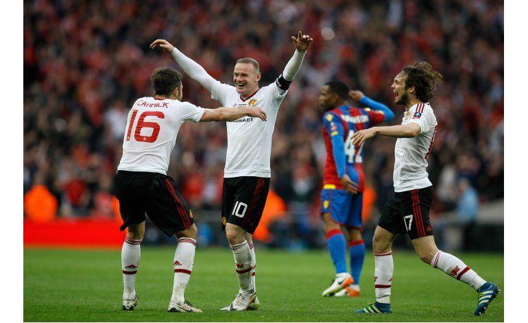 Man United se consuela con la Copa de la FA