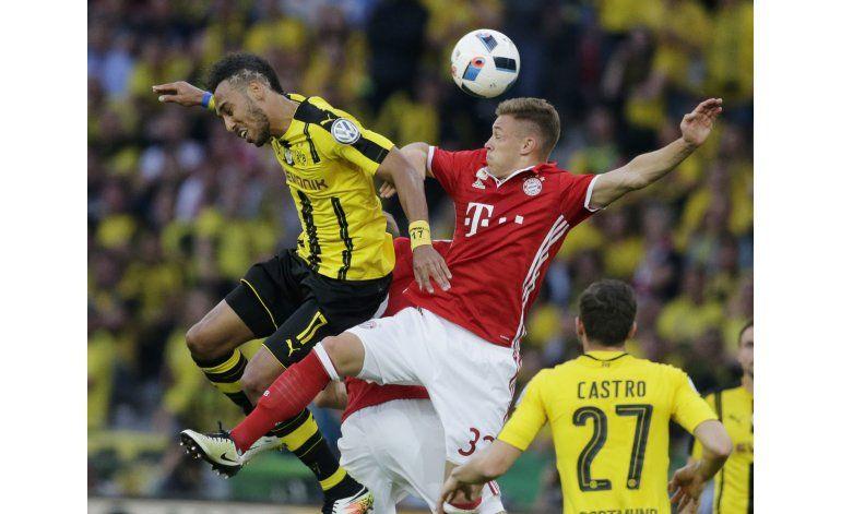 Bayern vence 4-3 en penales al Dortmund y gana la Copa