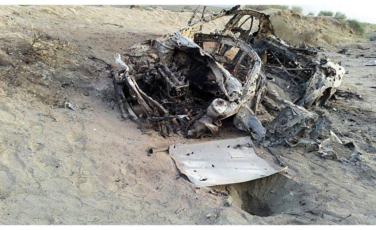 Talibanes: Fallece el líder del grupo en un ataque con dron