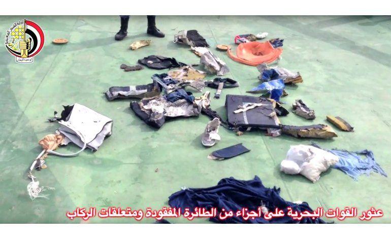 Egipto envía submarino al lugar de choque de vuelo EgyptAir