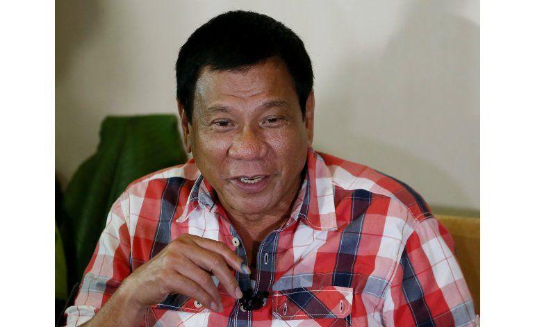 Presidente electo de Filipinas carga contra Iglesia, obispos