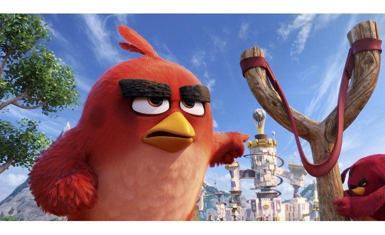 Angry Birds destrona al Capitán América en las taquillas